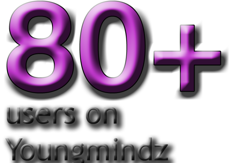 YoungMindz exceeds 80 users